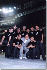 Allen, JC, and the Stuntmen Team 2